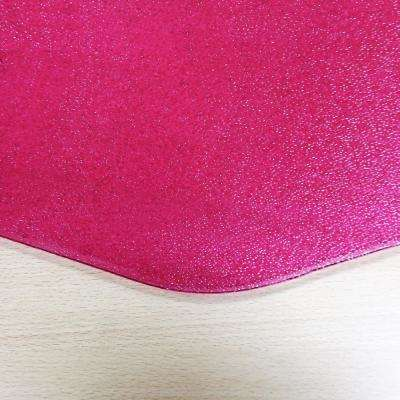 "Colortex® 9Mat® Polycarbonate 9-Sided Pink Gaming E-Sport Chair Mat for Hard Floors - 38"" x 39"""