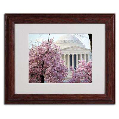 11 in. x 14 in. DC 4 Matted Framed Art