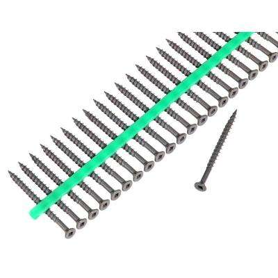 Auto Feed 2 1/2 in. Deck Screws with Shield Guard Strips-30 Pack of 1500