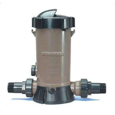 In Line Chlorine Feeder for Above Ground Pools