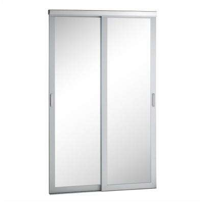 Mirror Urban Silver Frame for Sliding Door