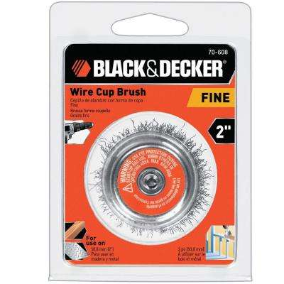 2 in. Fine Wire Cup Brush