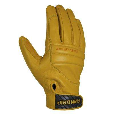 Leather Impact Tan Full Grain Leather Glove