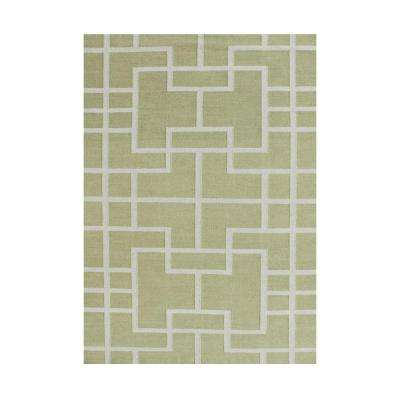 Green Glow 5 ft. x 8 ft. Area Rug