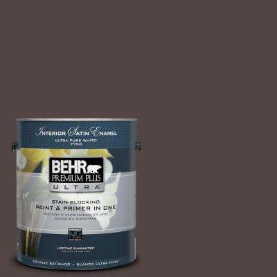 Home Decorators Collection 1-gal. #HDC-MD-13 Rave Raisin Satin Enamel Interior Paint