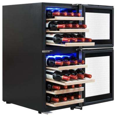 15.75 in. 33-Bottle Wine and 66-Can Compressor Beverage Cooler