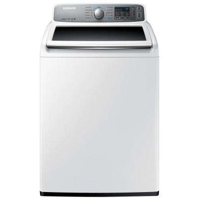 4.8 cu. ft. High-Efficiency Top Load Washer in White, ENERGY STAR