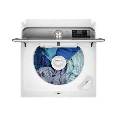 5.2 cu. ft. Smart Capable White Top Load Washing Machine with Extra Power Button, ENERGY STAR
