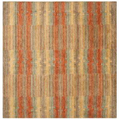 Himalaya Multi 6 ft. x 6 ft. Square Area Rug
