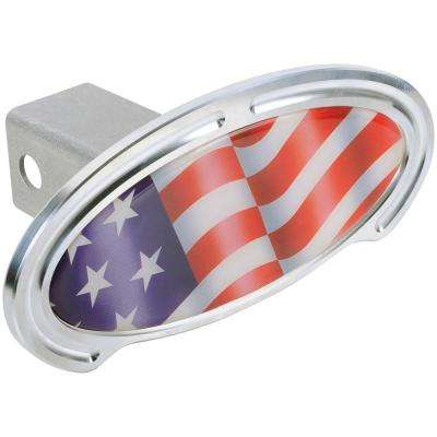 US Flag Step/Hitch Cover