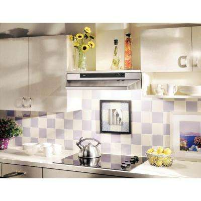 46000 Series 42 in. Convertible Under Cabinet Range Hood with Light in Stainless Steel