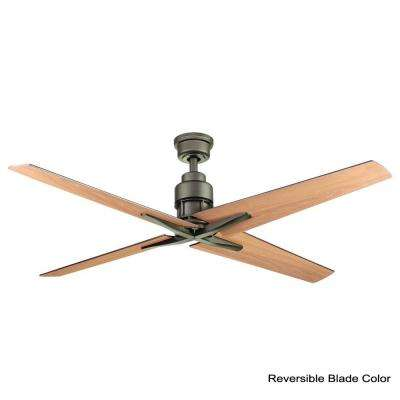 Virginia Highland 56 in. Indoor Espresso Bronze Ceiling Fan with Remote Control