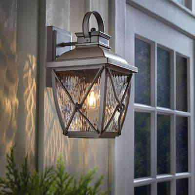 Springbrook 1-Light Rustic Outdoor Wall Lantern Sconce