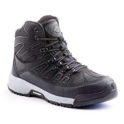 Banshee Men Black/Gray Rubber Exo-Skeleton Safety Work Boot