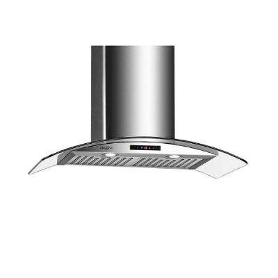 GCC430 30 in. Wall-Mounted Convertible Range Hood in Stainless Steel