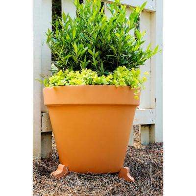 1.5 in. Terra Cotta Clay Pot Planter Feet (Set of 3)