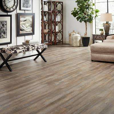 Embossed Windsong Oak 6 mm x 7-1/16 in. Width x 48 in. Length Vinyl Plank Flooring (23.64 sq.ft/case)