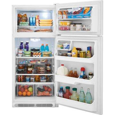 18.1 cu. ft. Top Freezer Refrigerator in White