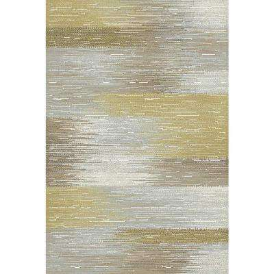Royal Treasure Amber/Mocha 2 ft. x 3 ft. 5 in. Indoor Area Rug