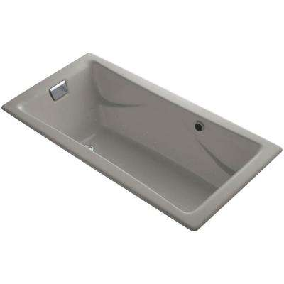 Tea-for-Two 6 ft. Air Bath Tub in Cashmere