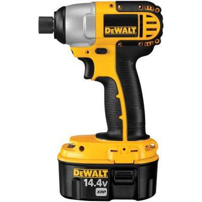 14.4-Volt XRP Ni-Cad 1/4 in. Cordless Impact Driver Kit