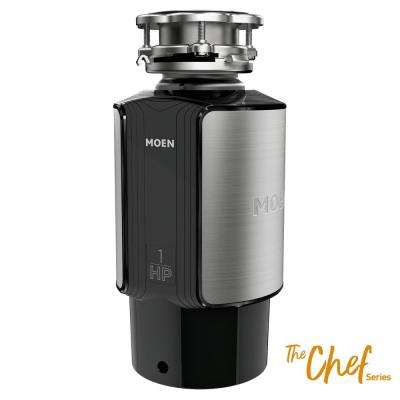 Chef Series 1 HP Continuous Feed Garbage Disposal with Sound Reduction and Universal Mount