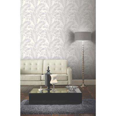 Ardita Gray Pearl Unpasted Wallcovering