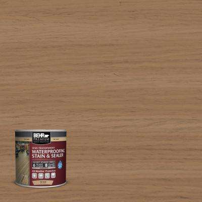 8 oz. #ST158 Golden Beige Semi-Transparent Waterproofing Stain and Sealer Sample