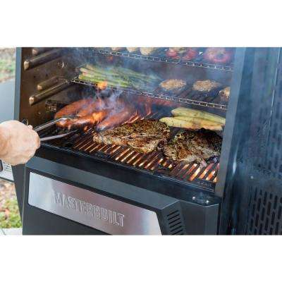 Gravity Series 560 Digital Charcoal Grill Plus Smoker in Black