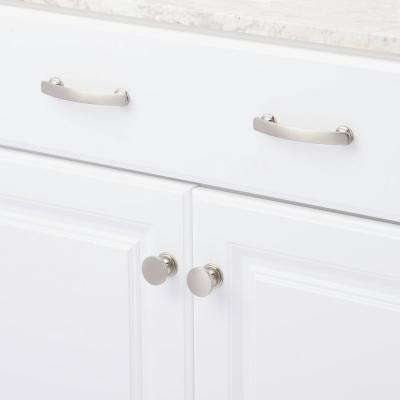 American Diner 3-3/4 in. Center-to-Center Satin-Nickel Pull