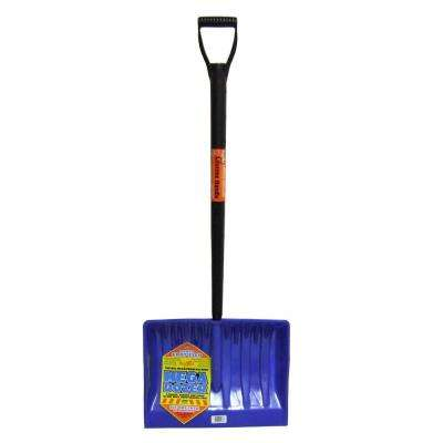 20 in. Mega Dozer Snow Shovel with Premium Lifetime Handle and Power Step
