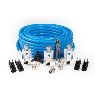 1 in. OD x 3/4 in. ID x 100 ft. High Density Polyethylene Master Kit
