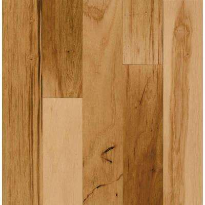 Natural Hickory 1/4 in. Thick x 2 in. Wide x 78 in. Length T-Molding