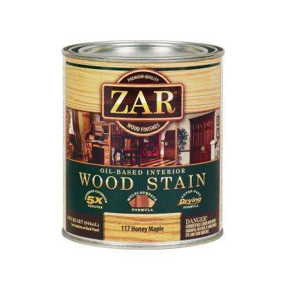 117 1 qt. Honey Maple Wood Stain (2-Pack)