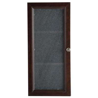 Delridge 13.5 in. x 29.5 in. Surface-Mount Modular Wall Hutch in Chocolate