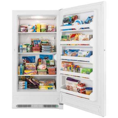 17.4 cu. ft. Upright Freezer in White
