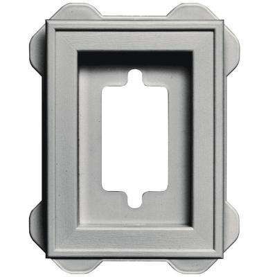 4.5 in. x 6.3125 in. #030 Paintable Recessed Mini Mounting Block