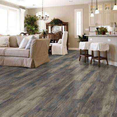 Dark Grey Oak Multi-Width x 47.6 in. Luxury Vinyl Plank Flooring (19.53 sq. ft. / case)