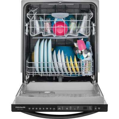 Top Control Built-In Dishwasher with OrbitClean Spray Arm in Smudge Proof Stainless Steel, ENERGY STAR