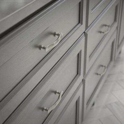 Elegant Luxe 3-3/4 in. (96mm) Center-to-Center Satin Nickel Drawer Pull