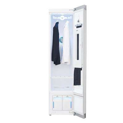 Styler Smart Home Steam Clothing Care System with Wi-Fi Enabled, Asthma and Allergy Friendly Sanitizer in White