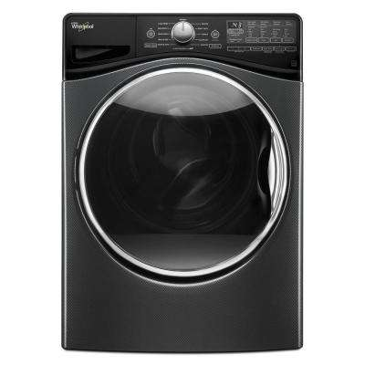 4.5 cu. ft. High-Efficiency Front Load Washer with Steam in Black Diamond, ENERGY STAR
