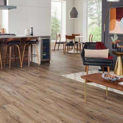 Outlast+ Linton Auburn Oak 10 mm Thick x 6-1/8 in. Wide x 47-1/4 in. Length Laminate Flooring (16.12 sq. ft.)