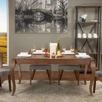 Claudette Brown Dining Table