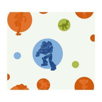 60.75 sq. ft. Toy Story Circles Wallpaper
