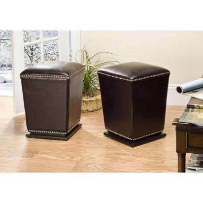 Mason Brown Vanity Stool (Set of 2)