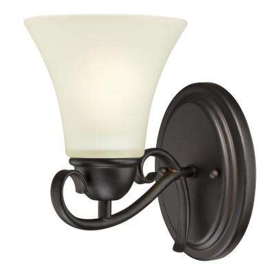 Dunmore 1-Light Oil Rubbed Bronze Wall Mount Sconce