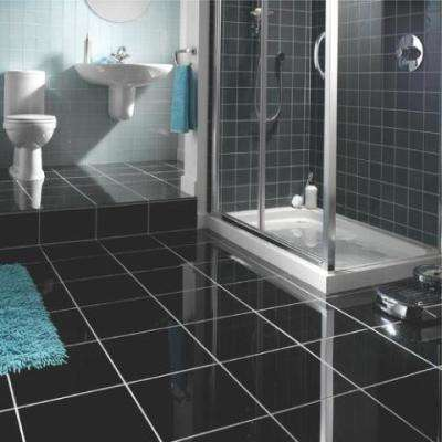Absolute Black 12 in. x 12 in. Honed Granite Floor and Wall Tile (10 sq. ft. /case)