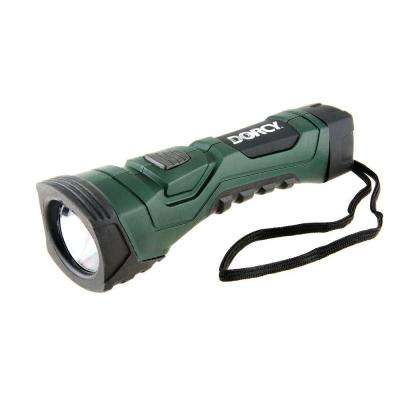 Cyber Light Weather Resistant LED Flashlight with Nylon Lanyard and True Spot Reflector