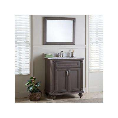 Annakin 30 in. W x 34 in. H x 22 in. D Bath Vanity Cabinet Only in Flagstone